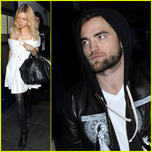 Robert Pattinson: Tom Sturridge & Sienna Miller's Birthday