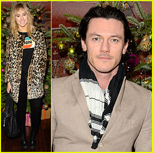 Suki Waterhouse & Luke Evans: 'August: Osage County' Screening!