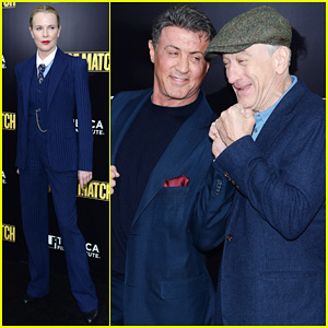 Sylvester Stallone & Robert De Niro: 'Grudge Match' Screening!