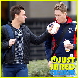 Olympic Diver Tom Daley & Dustin Lance Black: First Coup