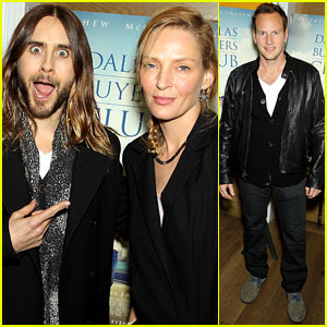 Jared Leto & Uma Thurman: 'Dallas Buyers Club' Screening!