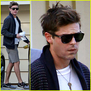 Zac Efron Photographed for First Time Since Breaking His Jaw