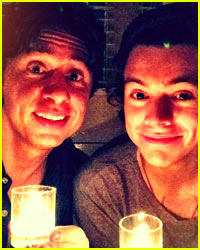 Zach Braff & Harry Styles Have 'Romantic Candlelit Dinner'