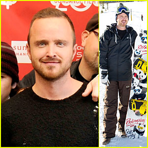 Aaron Paul: 'Hellion' Premiere at Sundance Film Festival 2014