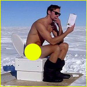 Alexander Skarsgard Goes Naked at the South Pole! (Photo)