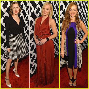 Allison Williams & Abbie Cornish: Journey of a Dress Exhibition Opening!