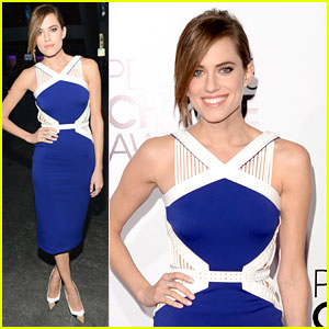 Allison Williams - People's Choice Awards 2014 Red Carpet