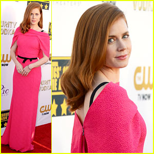 Amy Adams - Critics' Choice Movie Awards 2014 Red Carpet