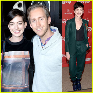 Anne Hathaway: 'Song One' Sundance Premiere!