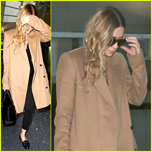 Ashley Olsen Steps Out Solo After David Schulte Split