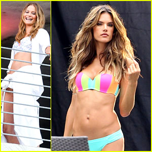 Behati Prinsloo & Alessandra Ambrosio's Bikini Bodies Will Make You Head to the Gym Right Now