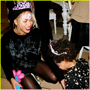 Beyonce Shares Blue Ivy Carter's 2nd Birthday Pictures!