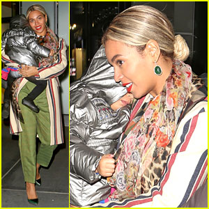 Beyonce Steps Out in the Big Apple with Blue Ivy Carter!