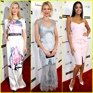 Cate Blanchett & Naomi Watts: G'Day USA Black Tie Gala 2014
