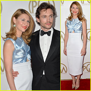 Claire Danes & Hugh Dancy - Producers Guild Awards 2014