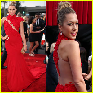 Colbie Caillat - Grammys 2014 Red Carpet