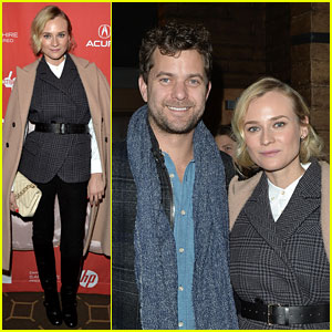 Diane Kruger & Joshua Jackson: 'Better Angels' at Sundance!