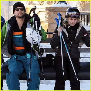 Diane Kruger & Joshua Jackson Go Skiing at Sundance!