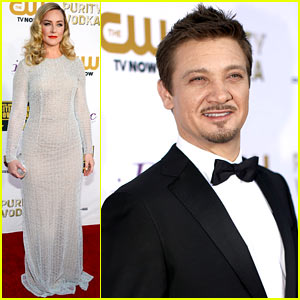 Jeremy Renner & Elisabeth Rohm - Critics' Choice Awards 2014