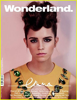 Emma Watson is an Afro Prada Bruiser for 'Wonderland' Mag!