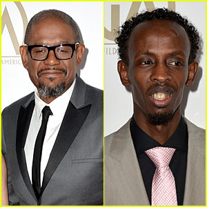Forest Whitaker & Barkhad Abdi - Producers Guild Awards 2014
