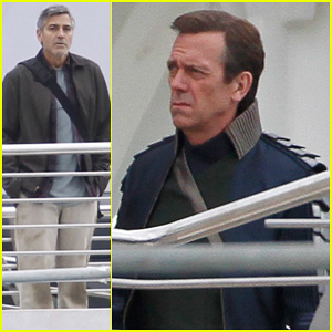 George Clooney Begins Filming 'Tomorrowland' in Spain!
