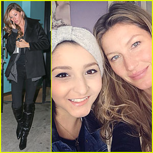 Gisele Bundchen Prays for Teenage Cancer Patient Karina Xavie