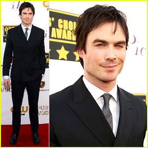 Ian Somerhalder - Critics' Choice Awards 2014 Red Carpet