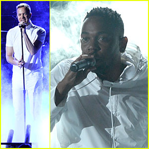 Imagine Dragons Performs 'Radioactive' with Kendrick Lamar at Grammys 2014 (Video)