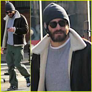 Jake Gyllenhaal Can't Find a Cab, Sprints Across Town Instead!