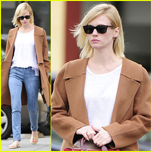 January Jones: Nail To Toe Rescue Stop!