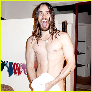 Jared Leto Poses Nude for New Terry Richardson Photo Shoot!