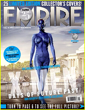 Jennifer Lawrence is Mystique on New 'X-Men' Magazine Cover!