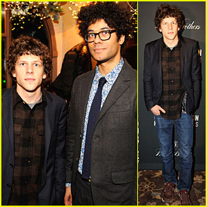 Jesse Eisenberg: 'The Double' Sundance Premiere After Party!