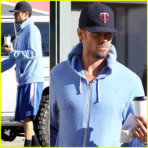 Josh Duhamel Not Trying to Break Up the Black Eyed Peas