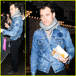 Jude Law: I'm Taking a Break After 'Henry V' Closes!