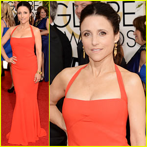 Julia Louis-Dreyfus - Golden Globes 2014 Red Carpet