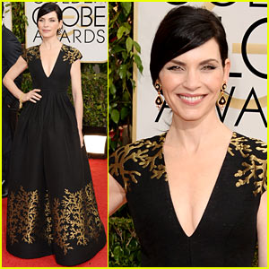 Julianna Margulies - Golden Globes 2014 Red Carpet