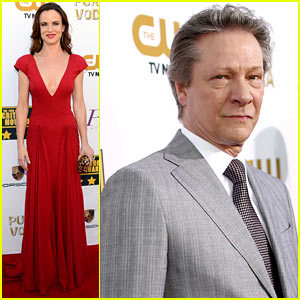 Juliette Lewis: Critics' Choice Awards 2014 with Chris Cooper!