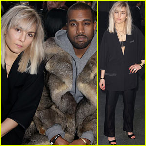 Kanye West & Noomi Rapace: Givenchy Men