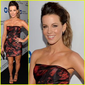 Kate Beckinsale: Warner Music Group Grammys 2014 After Party