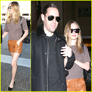Kate Bosworth & Michael Polish Hold Hands for France Getaway!