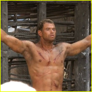 Kellan Lutz Flexes His Muscles in 'Legend of Hercules' Behind the Scenes Clip! (Exclusive)