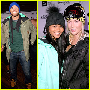 Kellan Lutz & Ireland Baldwin: Oakley Event at Sundance 2014