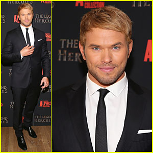 Kellan Lutz: 'Legend Of Hercules' NYC Premiere!