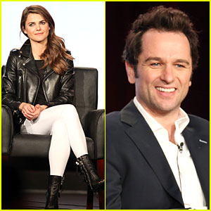 Keri Russell & Matthew Rhys: 'The Americans' TCA Panel!