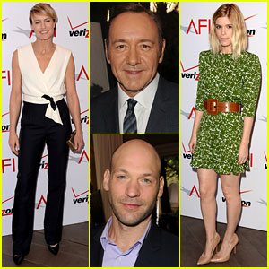 Kevin Spacey, Robin Wright & Kate Mara - AFI Awards 2014