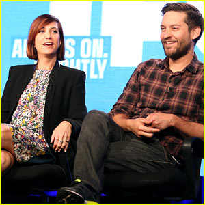 Kristen Wiig & Tobey Maguire: 'Spoils of Babylon' TCA Panel!