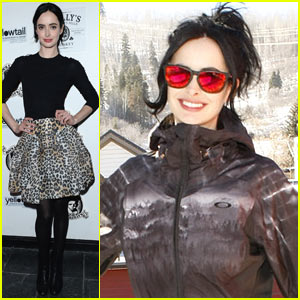 Krysten Ritter Hosts Yellowtail Party After Hitting the Slopes at Sundance!