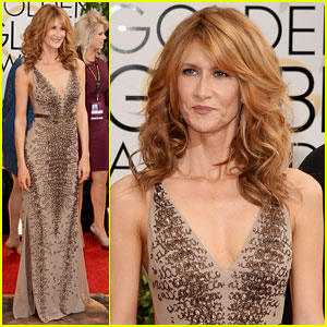 Laura Dern - Golden Globes 2014 Red Carpet